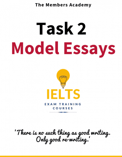 IELTS Writing Task 1 Model Essays
