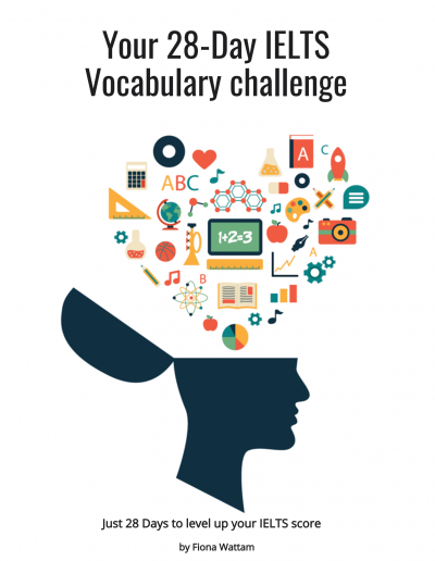 IELTS Vocabulary Course Cover