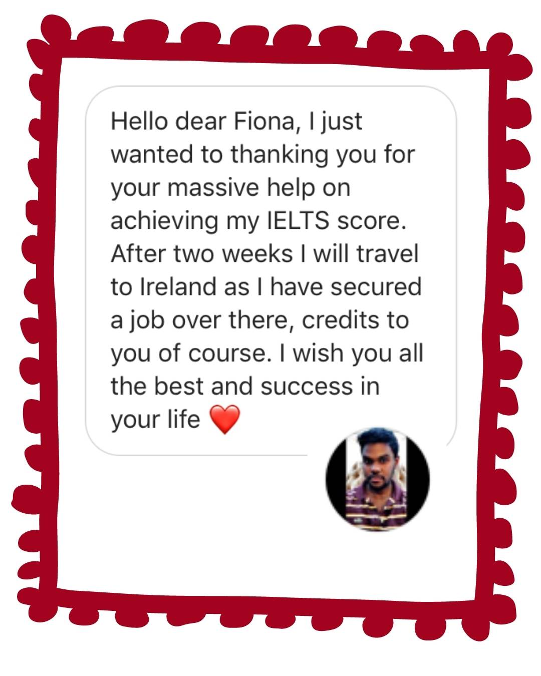 IELTS with Fiona reviews Mohammed